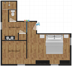 Old master suite plan