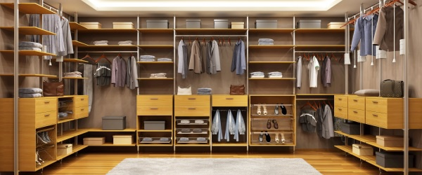 The Keys to Designing Your Wonderful Walk-in Closet