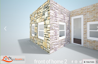 3D image of home
