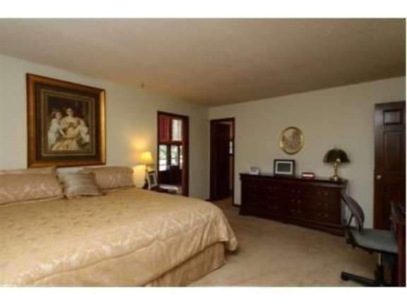 Picture of the original master suite looking fr...
