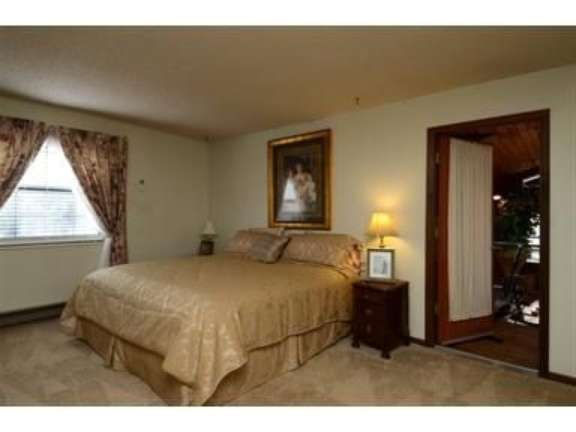 Here's a picture of the spare bedroom that will...