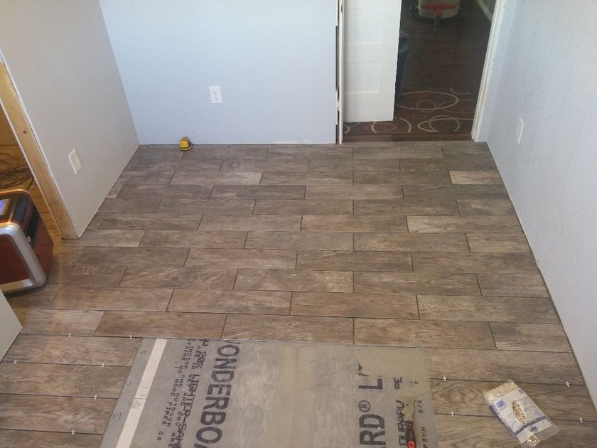 Another angle of flooring